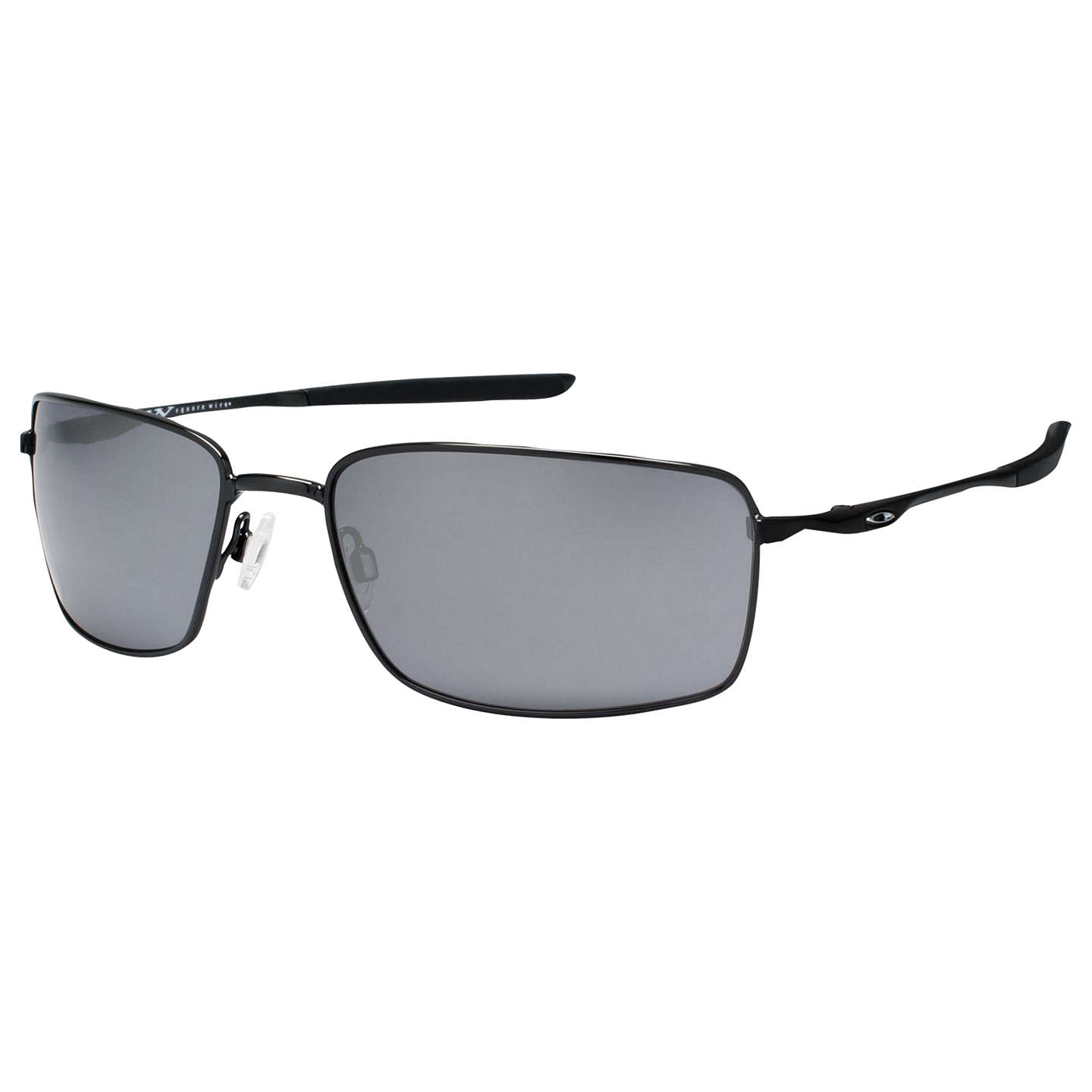 Oakley OO4075 Square Wire™ Rectangular Frame Sunglasses at John Lewis