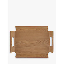 Buy John Lewis Handled Frame Wood Tray Online at johnlewis.com
