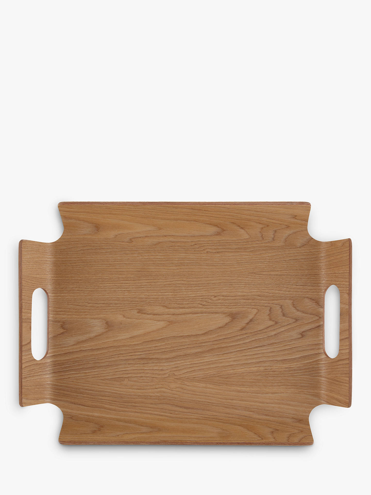 Buy John Lewis & Partners Handled Frame Wood Tray Online at johnlewis.com