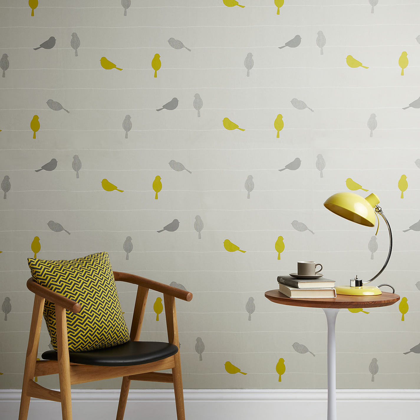 Buy john lewis bird on a wire wallpaper smoke john lewis buy john lewis bird on a wire wallpaper smoke online at johnlewis gumiabroncs Images