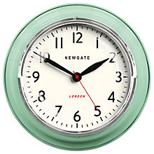 Buy Newgate Cookhouse Wall Clock, Dia.35cm Online at johnlewis.com