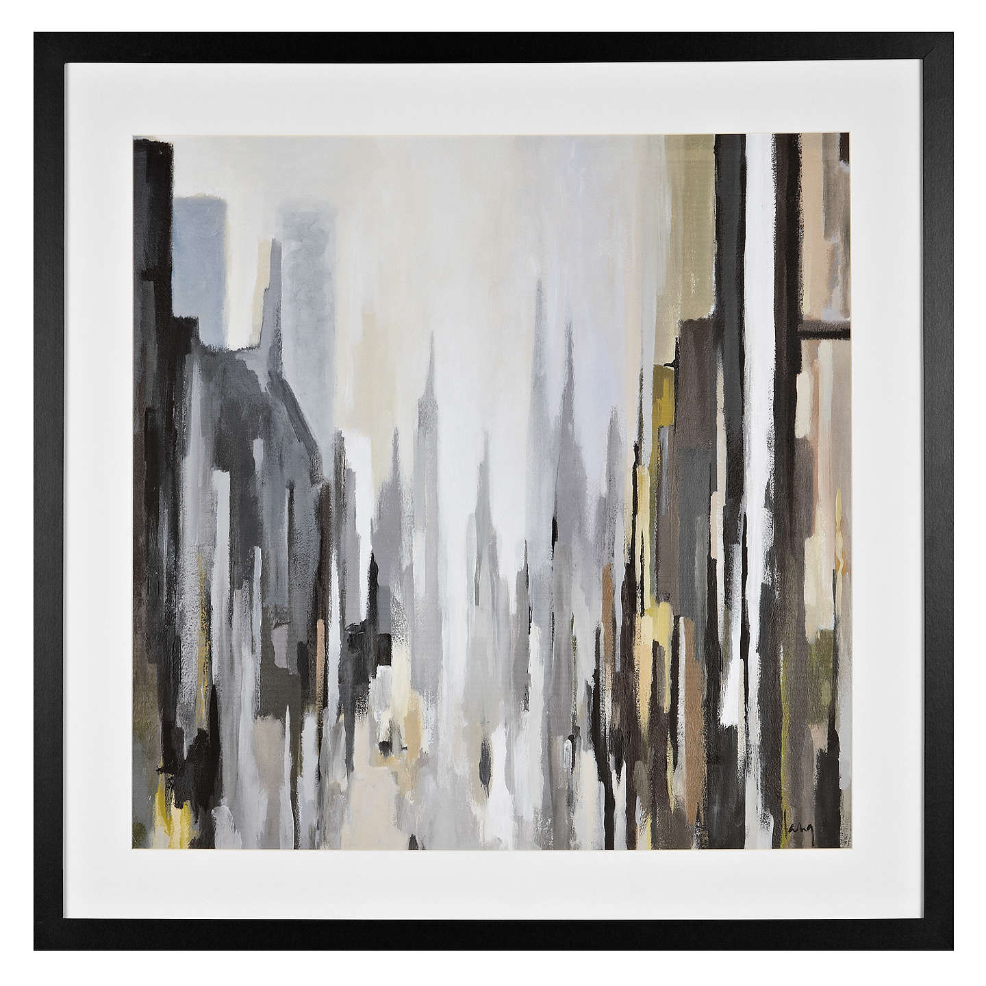 BuyGregory Lang - Cathedral Neutral Framed Print , 86 x 86cm Online at johnlewis.com