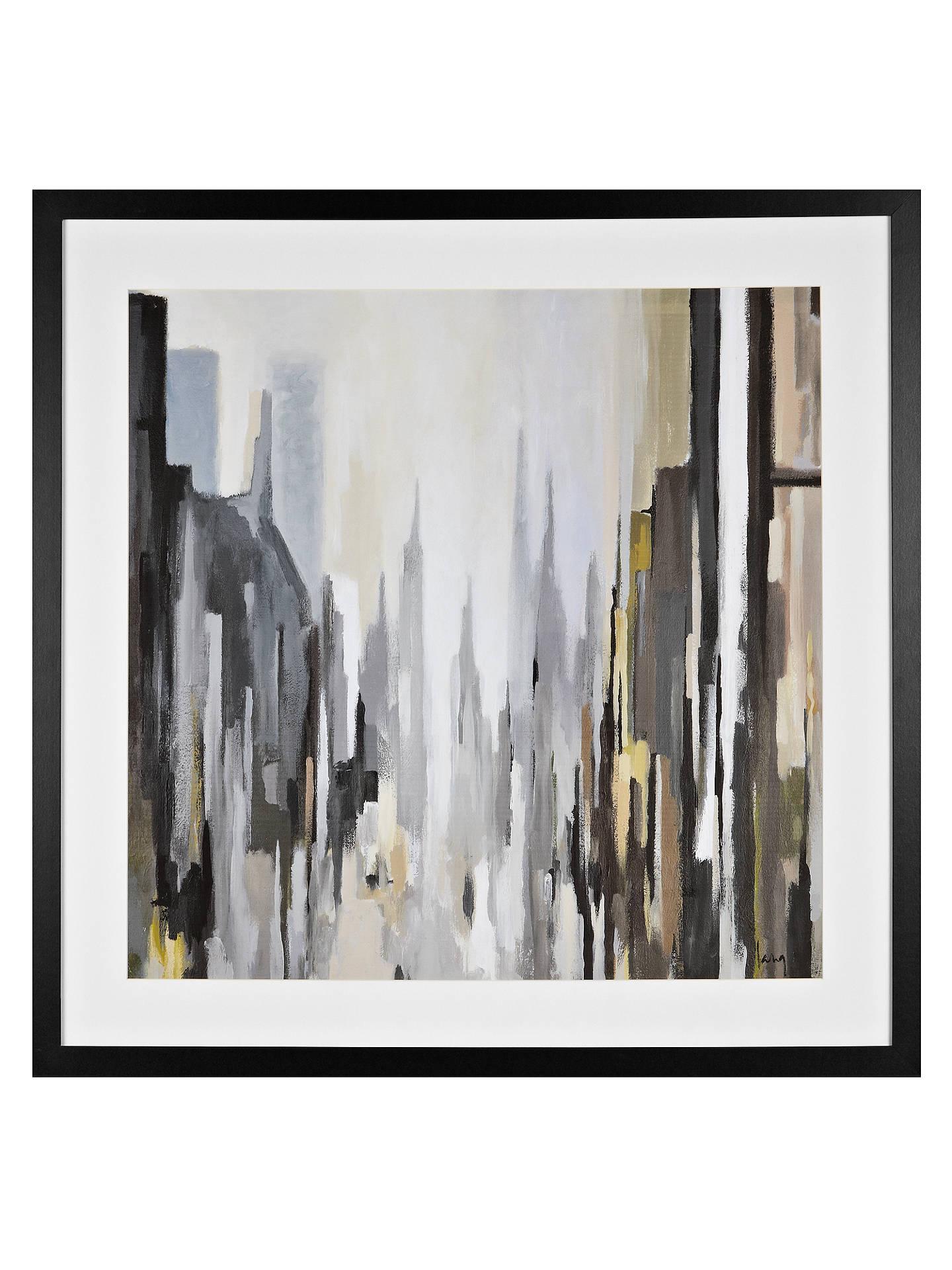Gregory Lang - Cathedral Neutral Framed Print, 86 x 86cm at John ...