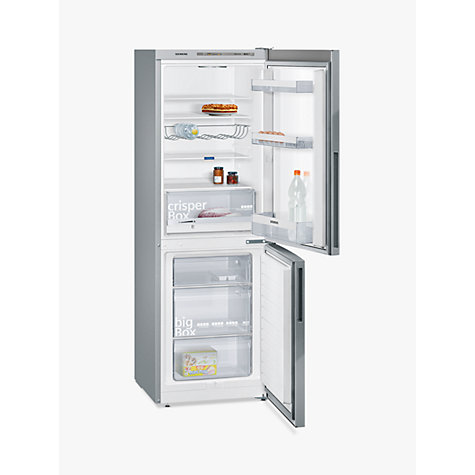 Buy Siemens KG33VVI31G Fridge Freezer, A++ Energy Rating, 60cm Wide, Stainless Steel Online at johnlewis.com