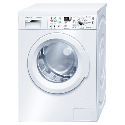 Bosch WAQ283S1GB Freestanding Washing Machine 8kg Load A Energy Rating 1400rpm Spin White