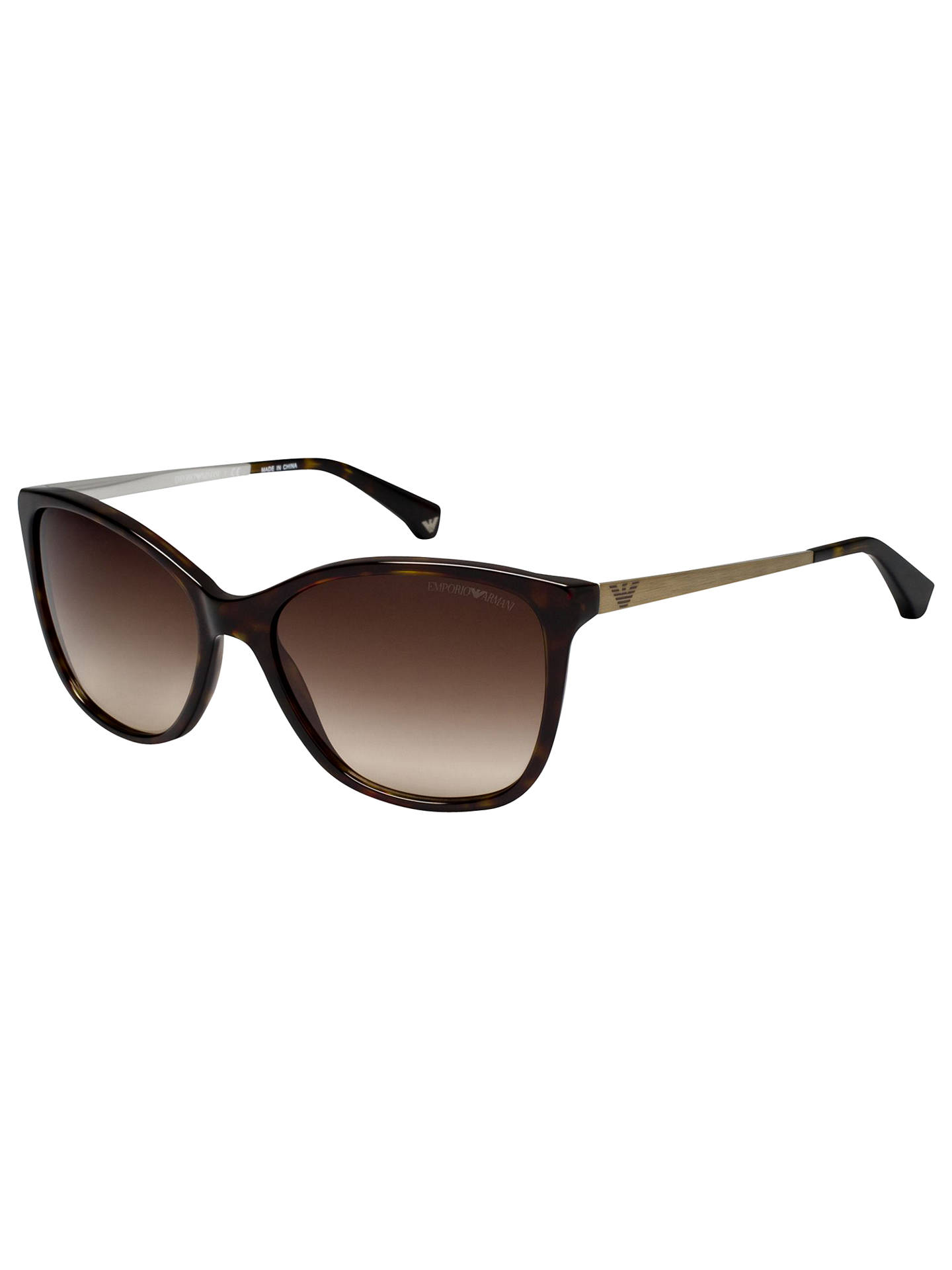 ac7c3b0f692 Emporio Armani EA4025 Cat s Eye Sunglasses at John Lewis   Partners