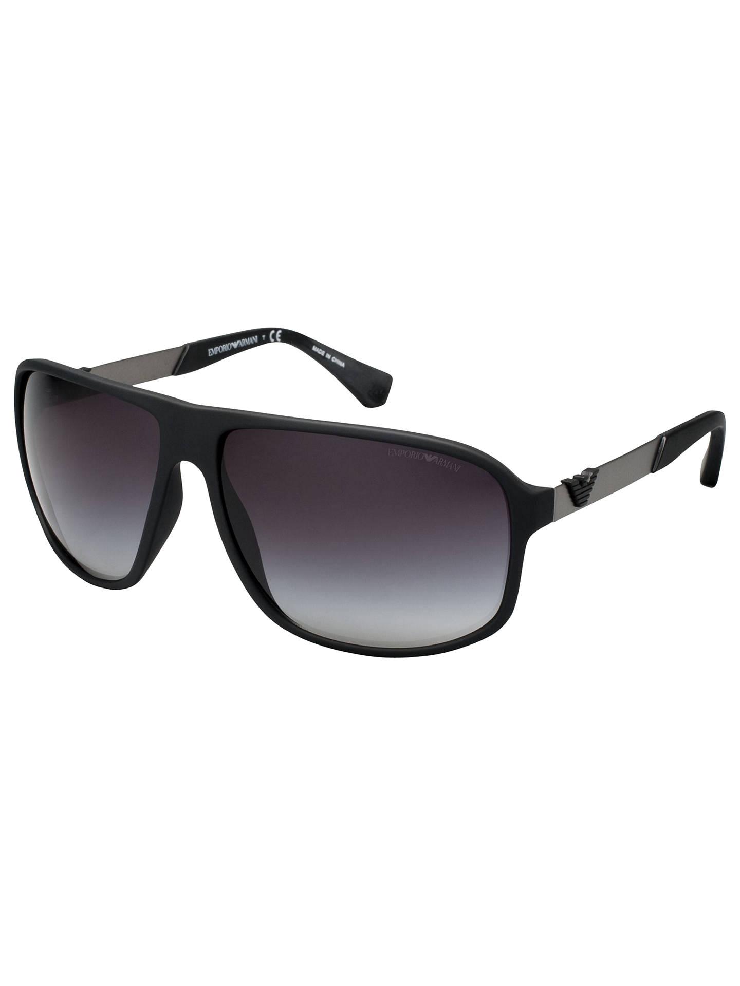 77c5b2382c7 Emporio Armani EA4029 Square Sunglasses at John Lewis   Partners