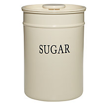 Buy John Lewis Classic Enamel Sugar Canister Online at johnlewis.com