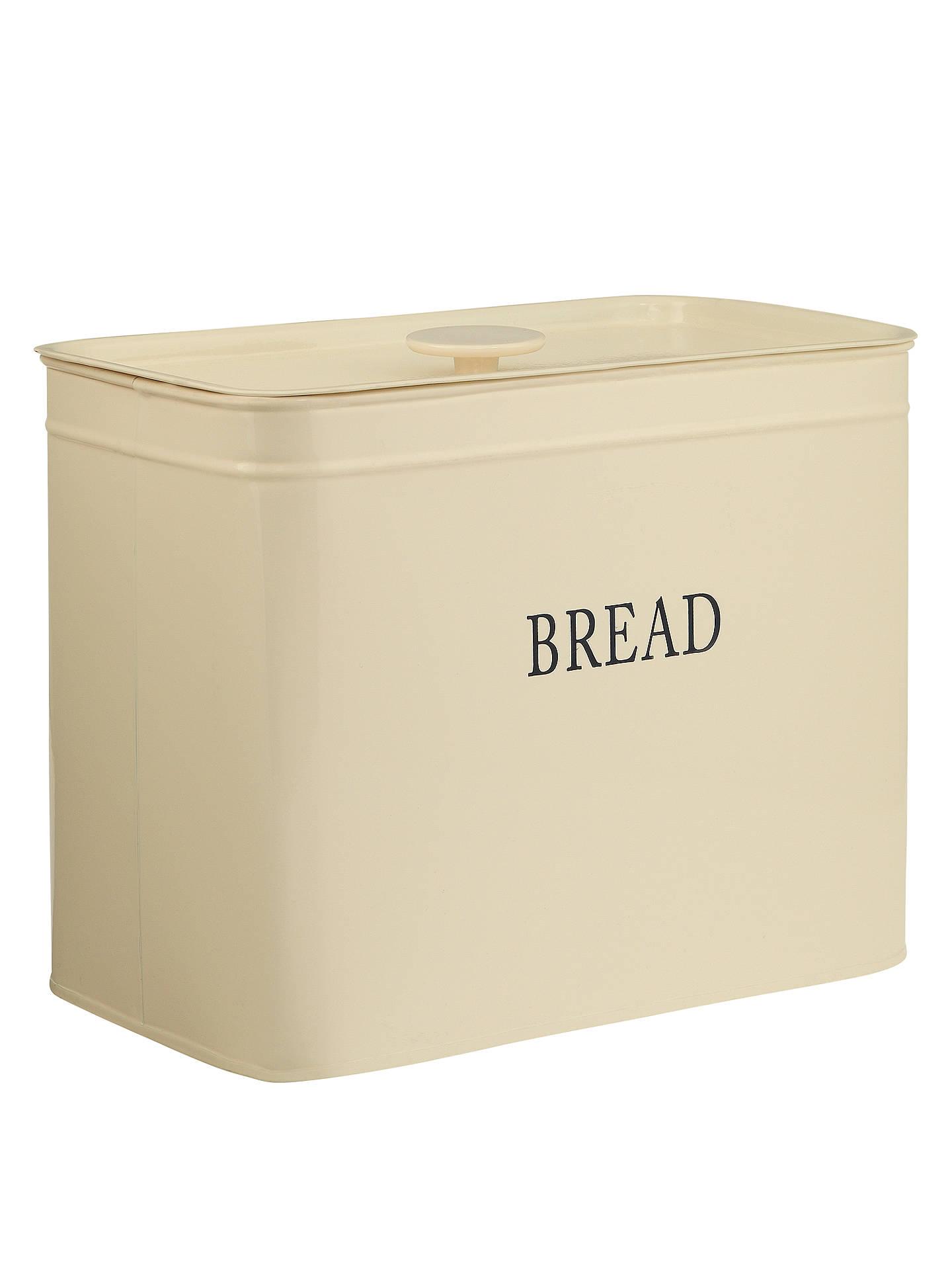 john lewis partners classic enamel bread bin at john. Black Bedroom Furniture Sets. Home Design Ideas