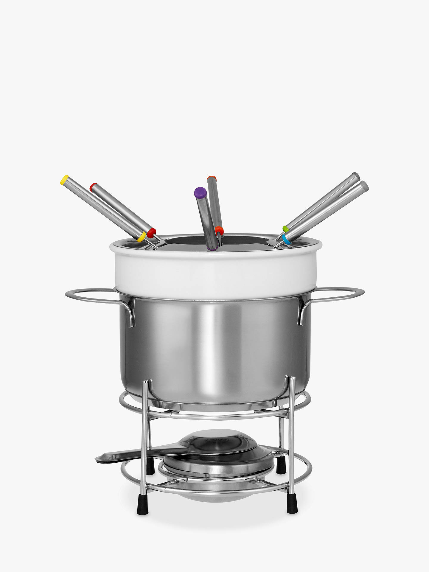 Buy John Lewis & Partners Ceramic Fondue Set Online at johnlewis.com