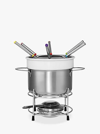 John Lewis & Partners Ceramic Fondue Set