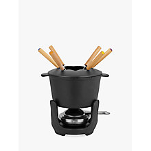 Buy John Lewis Cast Iron Fondue Set Online at johnlewis.com