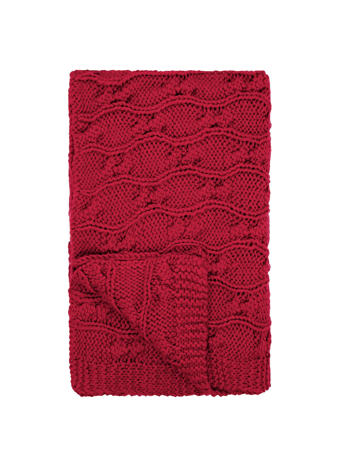 john lewis chunky knit throw at john lewis partners. Black Bedroom Furniture Sets. Home Design Ideas