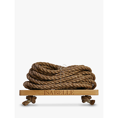Buy The Oak And Rope Company Personalised Swing, Small Online at johnlewis.com