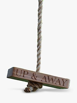 The Oak And Rope Company Personalised Up And Away Swing