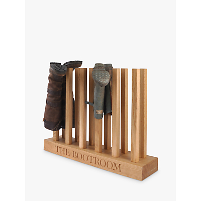 The Oak And Rope Company Personalised Wellie Boot Holder, 6 Pairs