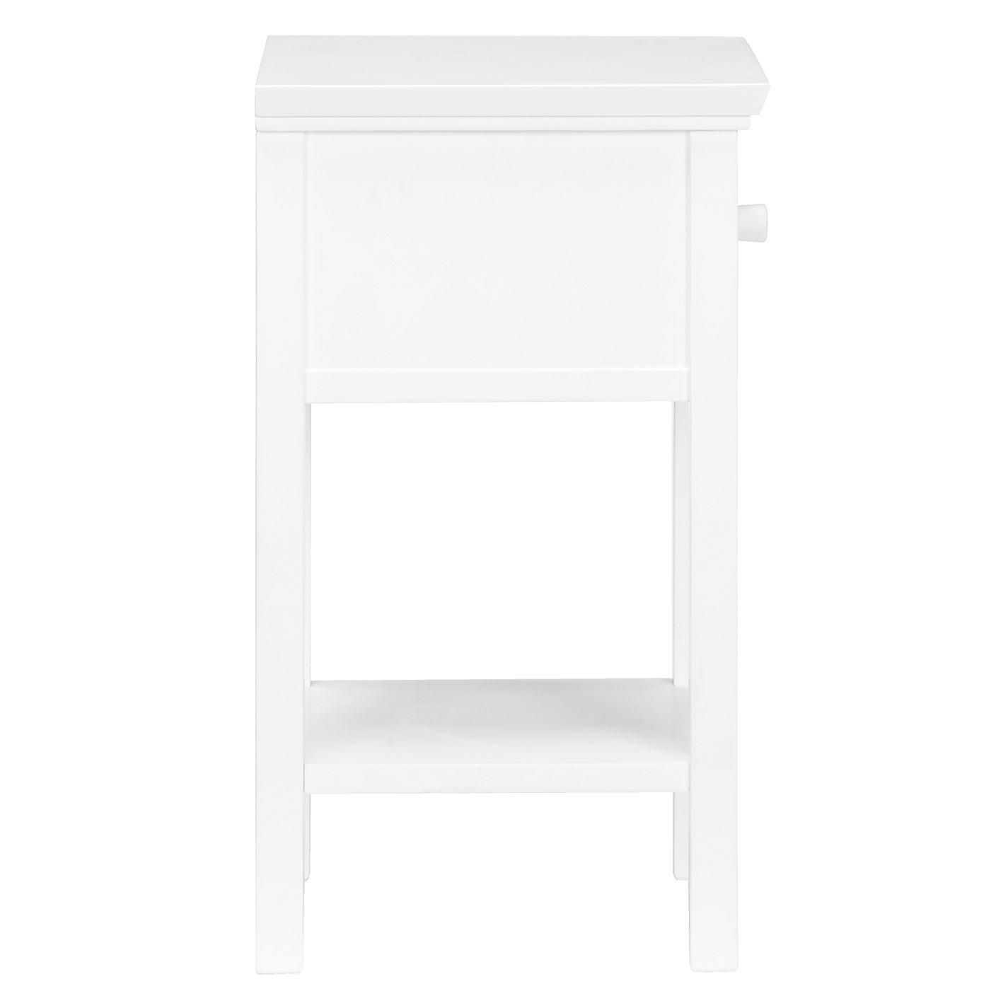 White bedside table -  Buy John Lewis Wilton Set Of 2 Bedside Tables Online At Johnlewis Com