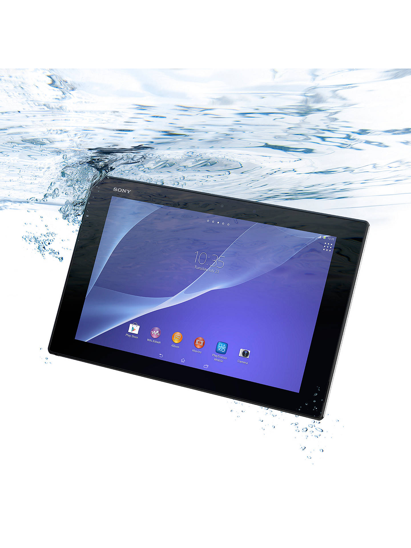 Sony Xperia Z2 Tablet, Snapdragon 801, Android, 10 1