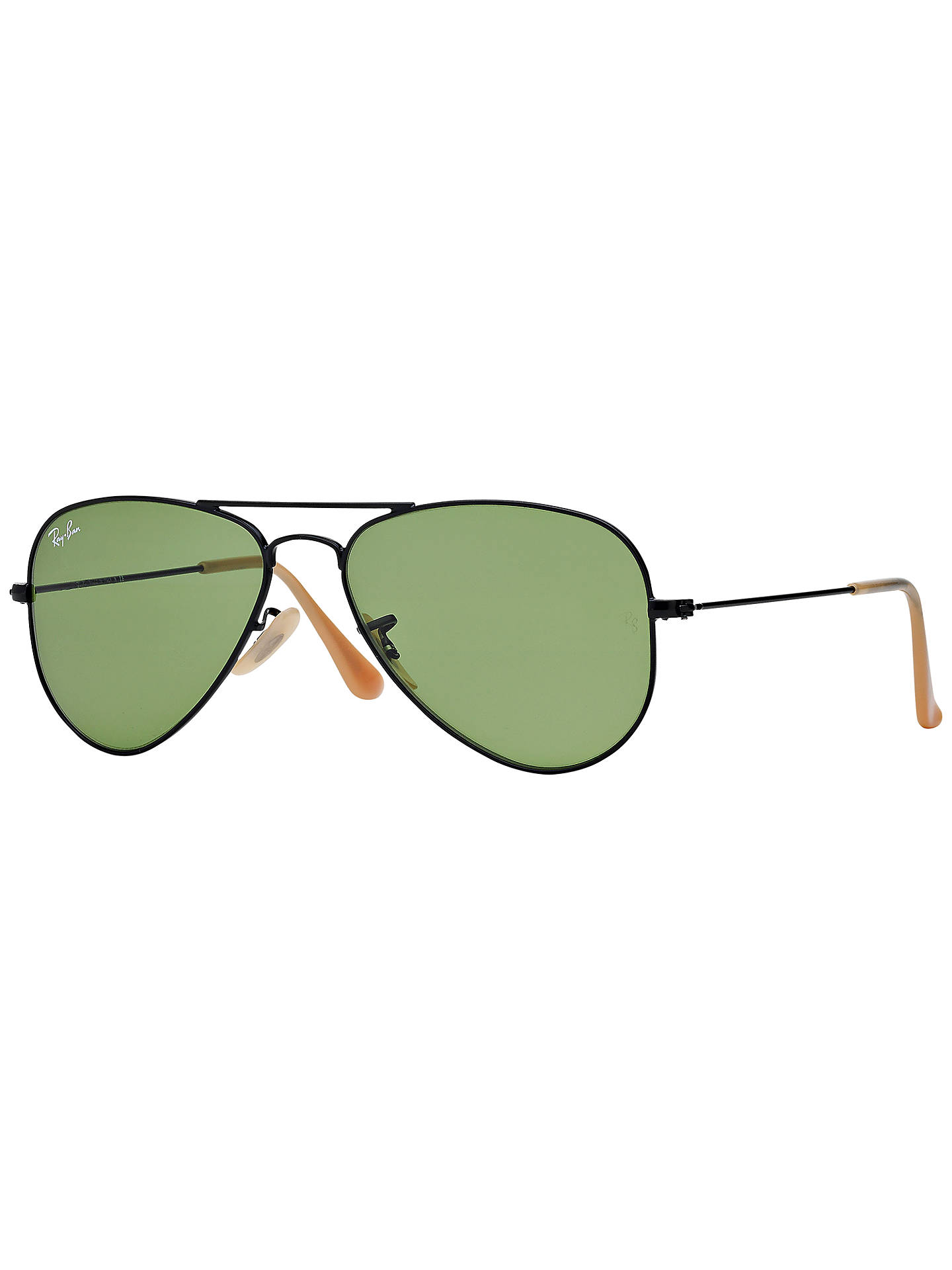 899ecee5db6 ... where to buy buyray ban rb3044 small aviator sunglasses matte black  green online at johnlewis.
