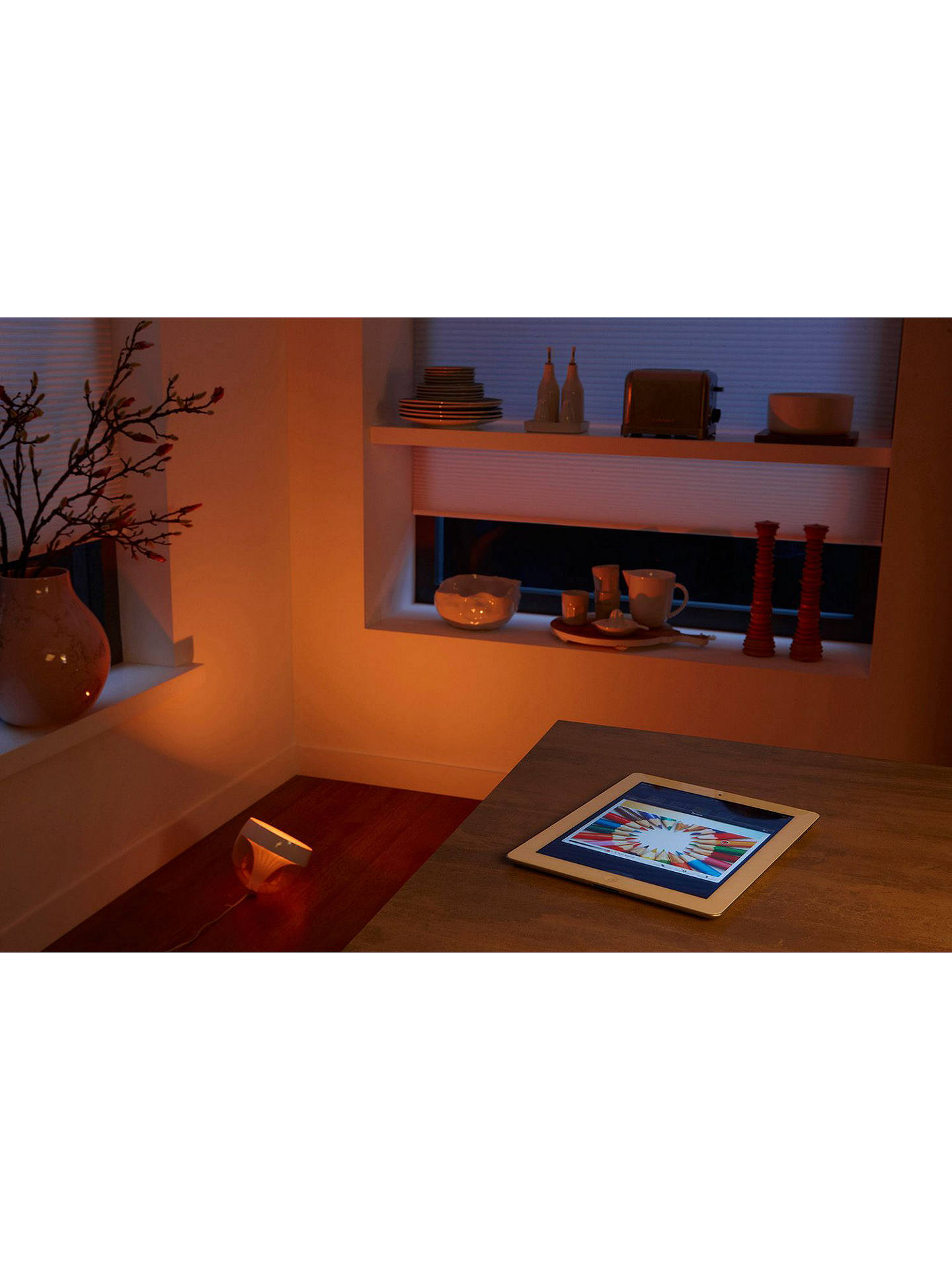 Buyphilips Hue Livingcolors Iris Colour Changing Led Mood Light, Clear
