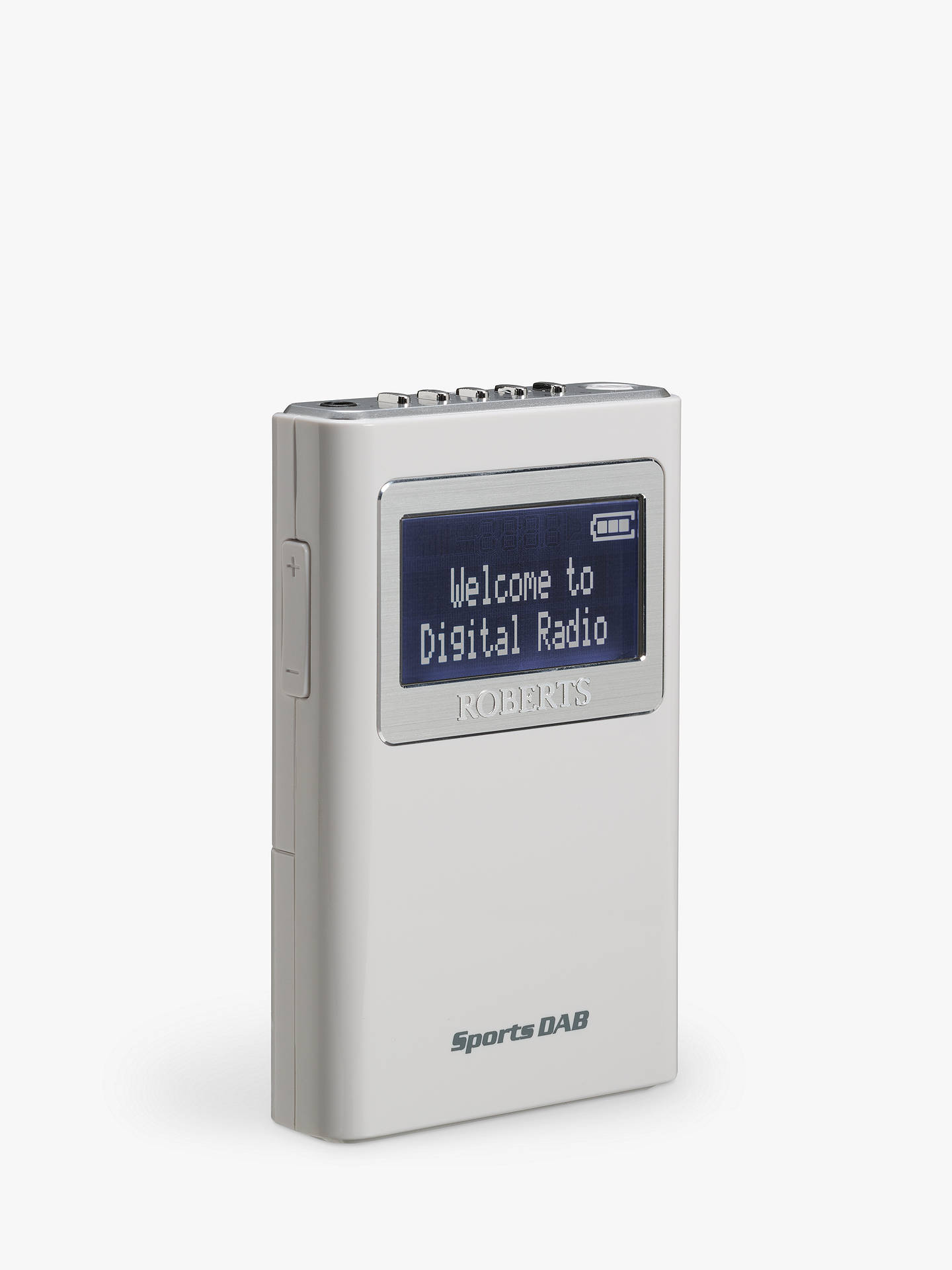 Buy ROBERTS Sports DAB 5 Personal Stereo Radio Online at johnlewis.com