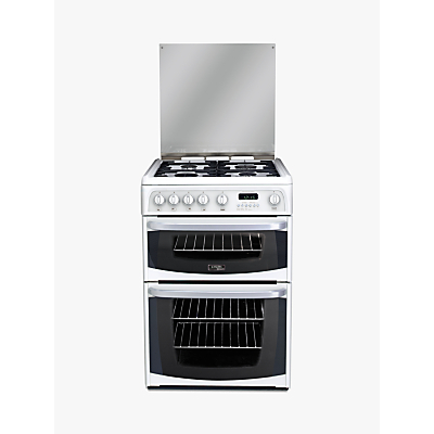 Hotpoint Cannon CH60GCIW Gas Cooker, White