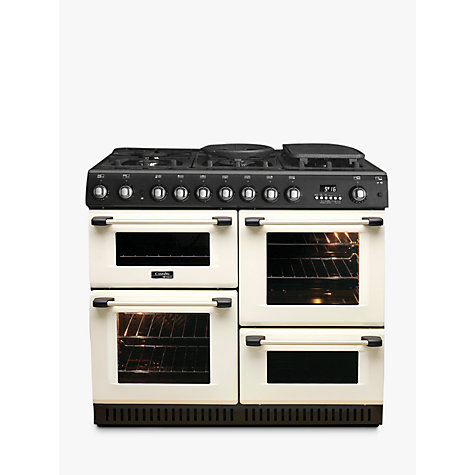 Buy Hotpoint Cannon CH10755GFS Gas Range Cooker, Cream Online at johnlewis.com