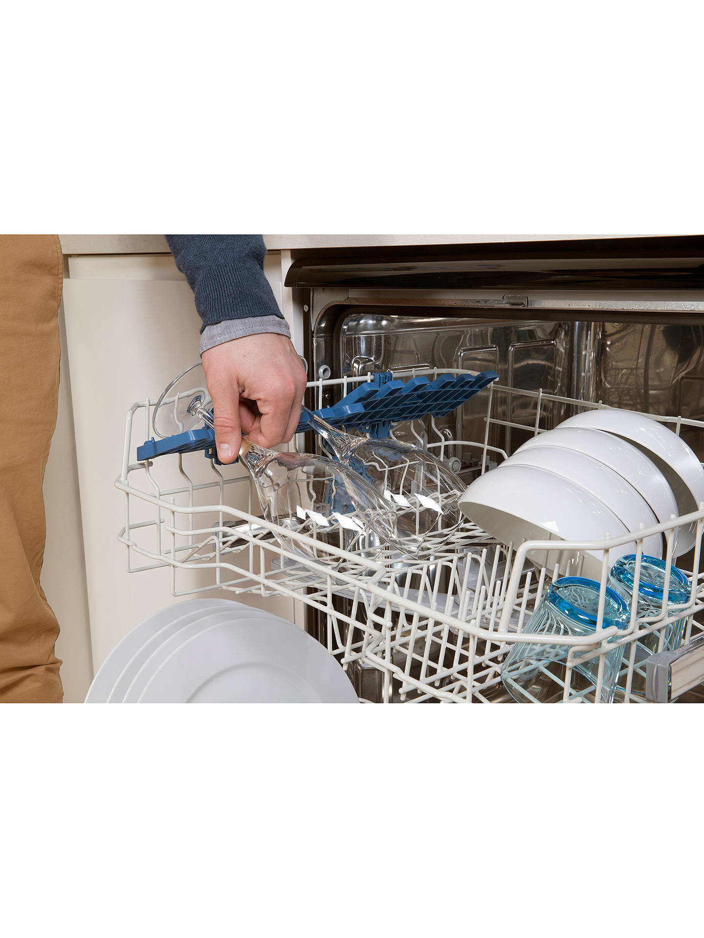 Buy Indesit DFG 15B1 K Dishwasher, Black Online at johnlewis.com