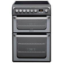 Buy Hotpoint HUE61 Electric Cooker Online at johnlewis.com
