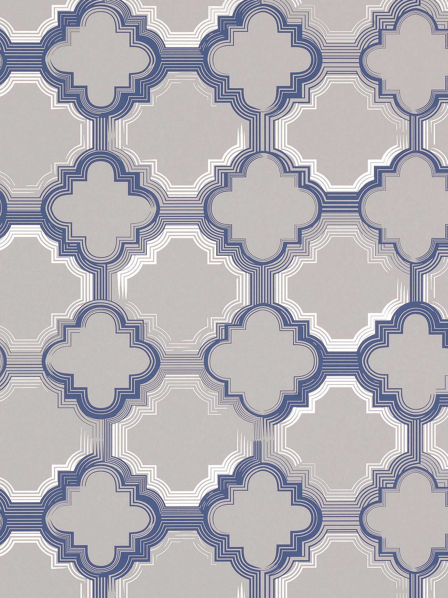 Buy Osborne & Little Quatrefoil Wallpaper, W6599-01 Online at johnlewis.com
