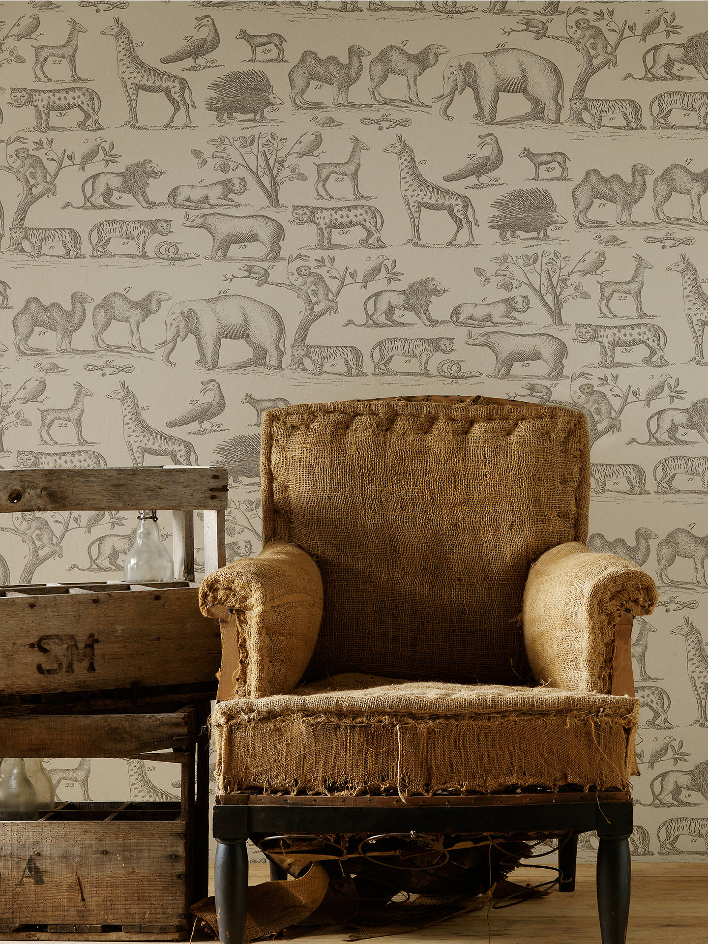 Buy Andrew Martin Ark Wallpaper, ARK1 Online at johnlewis.com