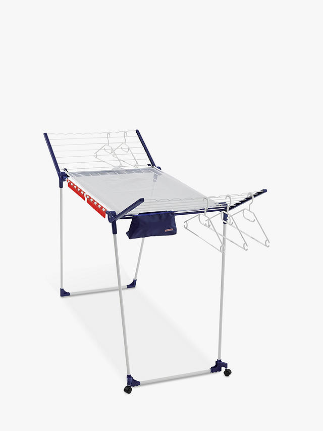Buy Leifheit Pegasus 200 Deluxe Mobile Indoor Clothes Airer Online at johnlewis.com