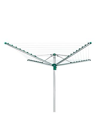 Leifheit Linomatic 400 Comfort Rotary Clothes Outdoor Airer Washing Line, 40m