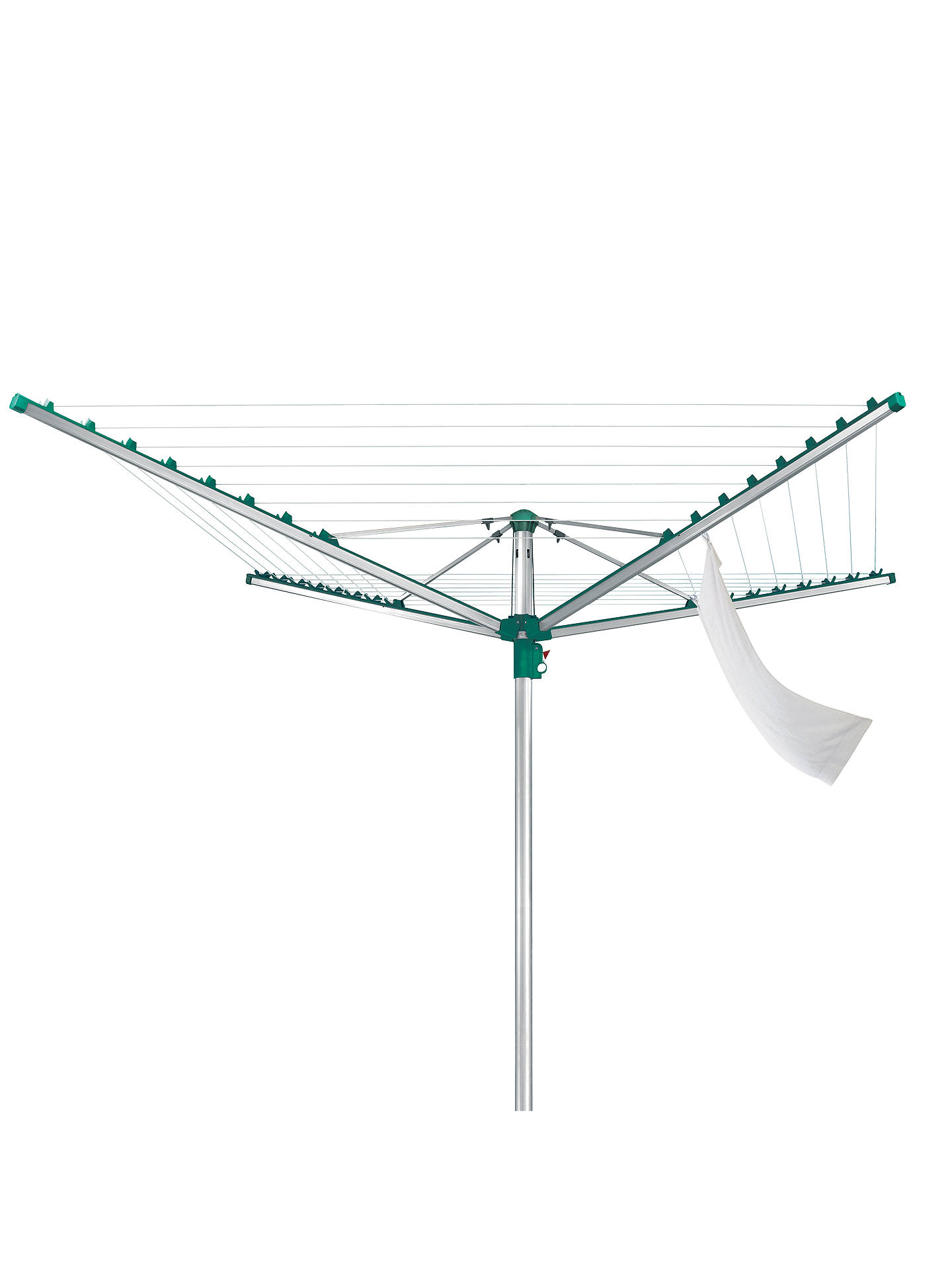 BuyLeifheit Linomatic 400 Comfort Rotary Clothes Outdoor Airer Washing Line, 40m Online at johnlewis.com