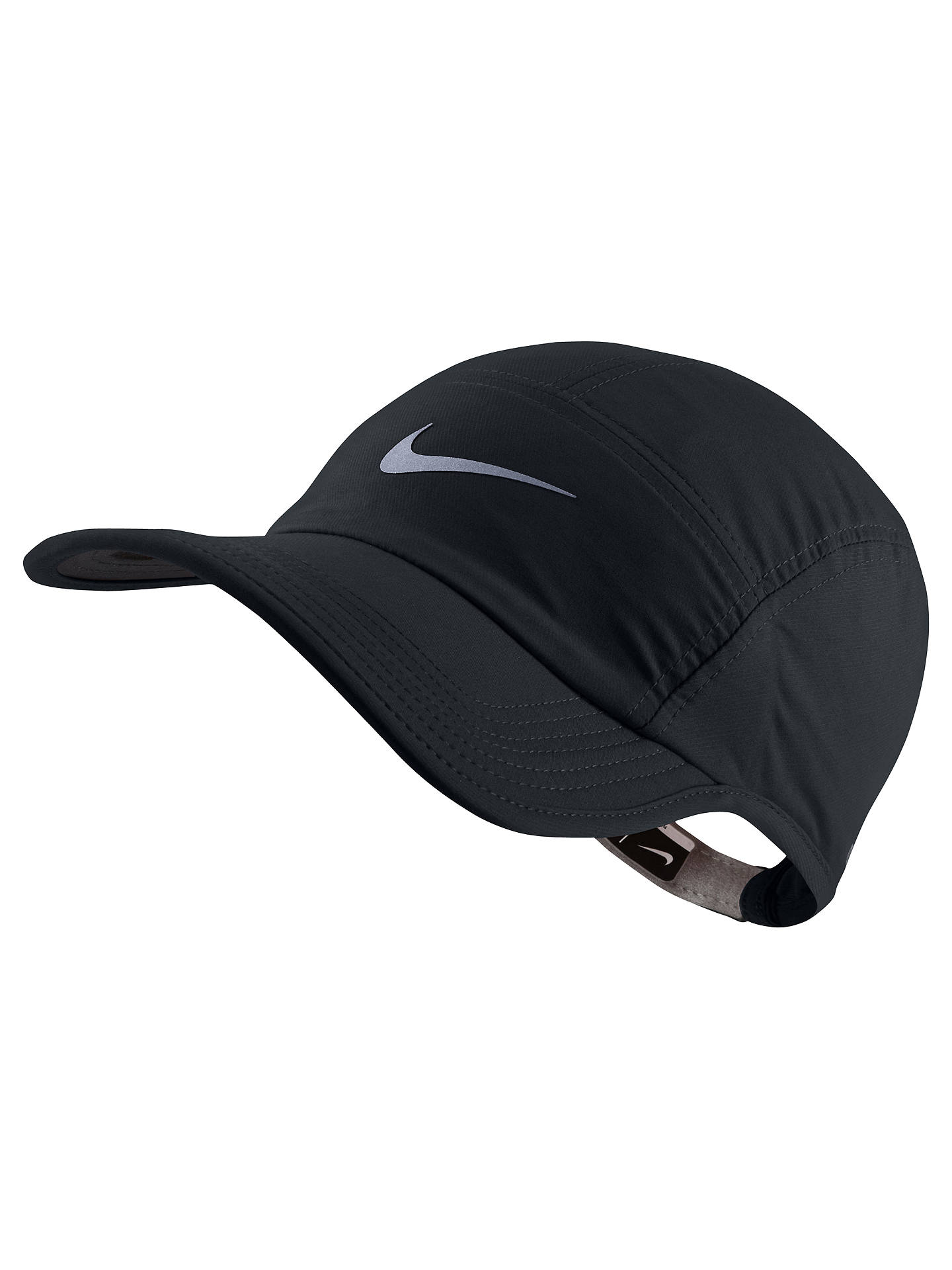 ceabc55742ee4 ... order buynike aw84 adjustable running hat black online at johnlewis  21ebf 759c0