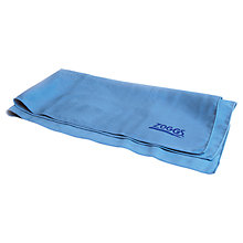 Buy Zoggs Elite Micro-Fibre Towel, Blue Online at johnlewis.com