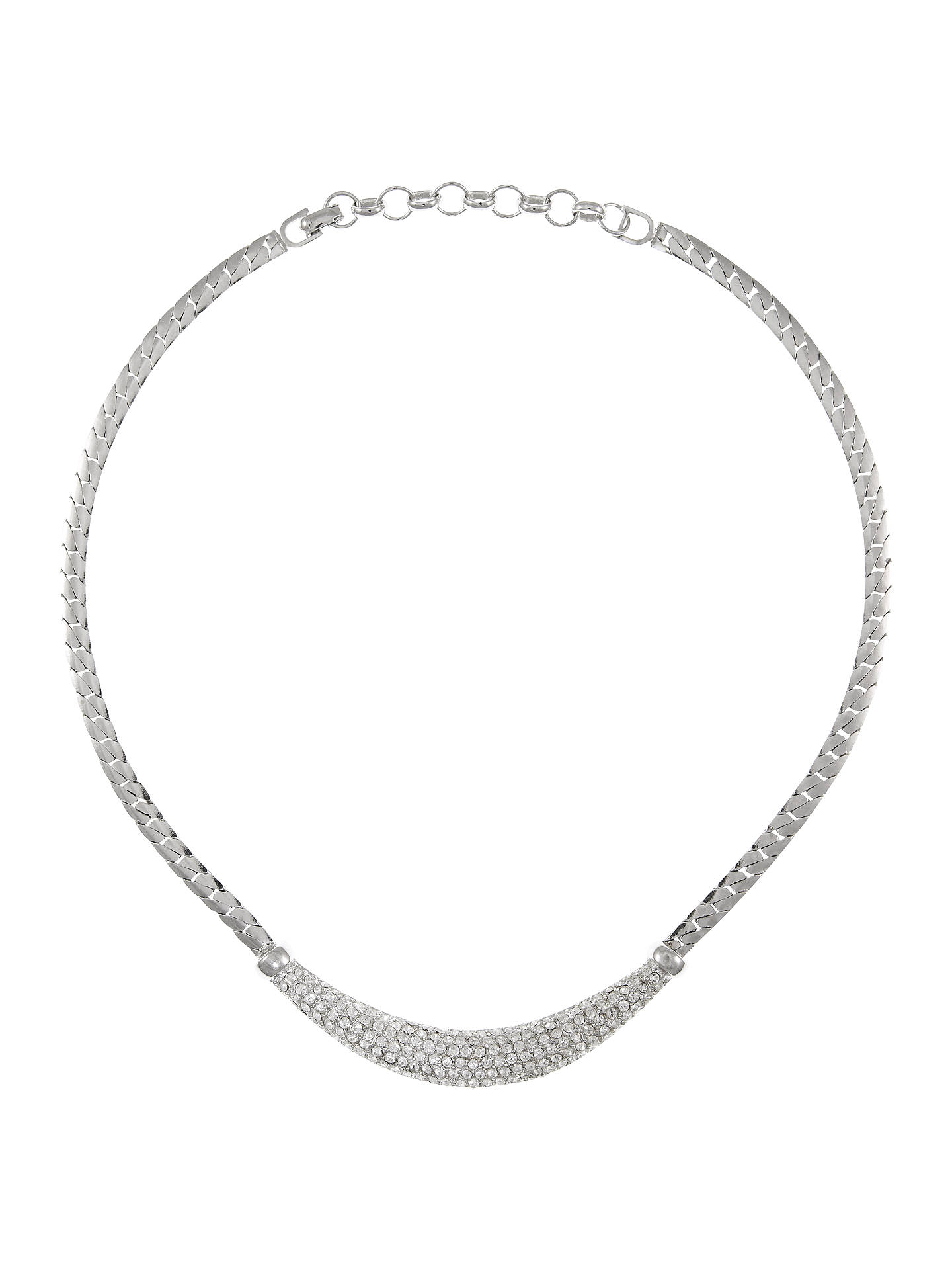 2d90e66a Eclectica Vintage 1980s Christian Dior Chrome Plated Snake Chain ...