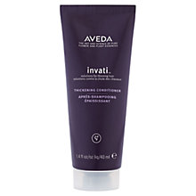 Buy AVEDA Invati™ Thickening Conditioner, 40ml Online at johnlewis.com