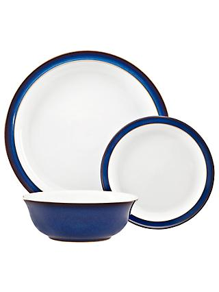 Denby Imperial Blue Dinnerware Set, 12 Piece