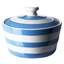 Buy Cornishware Butter Dish, Blue/White Online at johnlewis.com