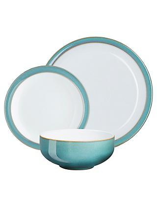 Denby Azure Dinnerware Set 12 Pieces