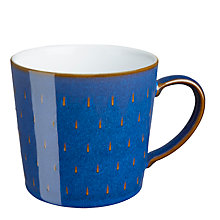 Buy Denby Imperial Blue Cascade Mug Online at johnlewis.com
