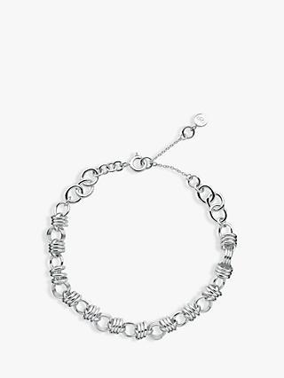 Links Of London Sweetie Xs Sterling Silver Chain Charm Bracelet