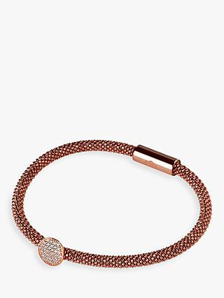 Links Of London Star Dust Round Bracelet Rose Gold