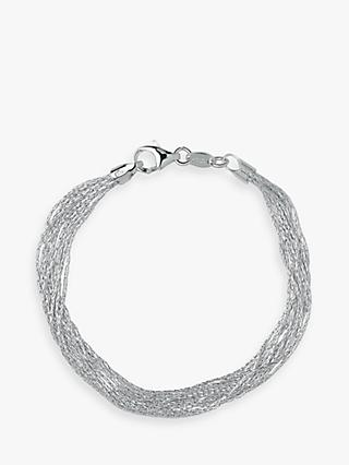 Links of London Essentials 10 Row Bracelet, Silver