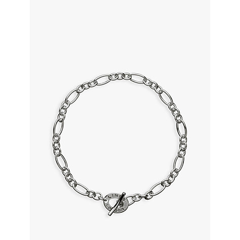 Links Of London Xs Sterling Silver Chain Charm Bracelet Online At Johnlewis