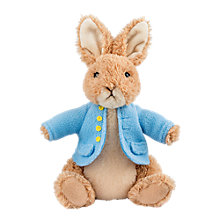 Buy Beatrix Potter Peter Rabbit Soft Toy, Medium Online at johnlewis.com