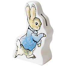 Buy Beatrix Potter Peter Rabbit Money Box Online at johnlewis.com