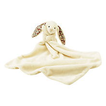 Buy Jellycat Blossom Bunny Baby Soother Soft Toy, Cream Online at johnlewis.com