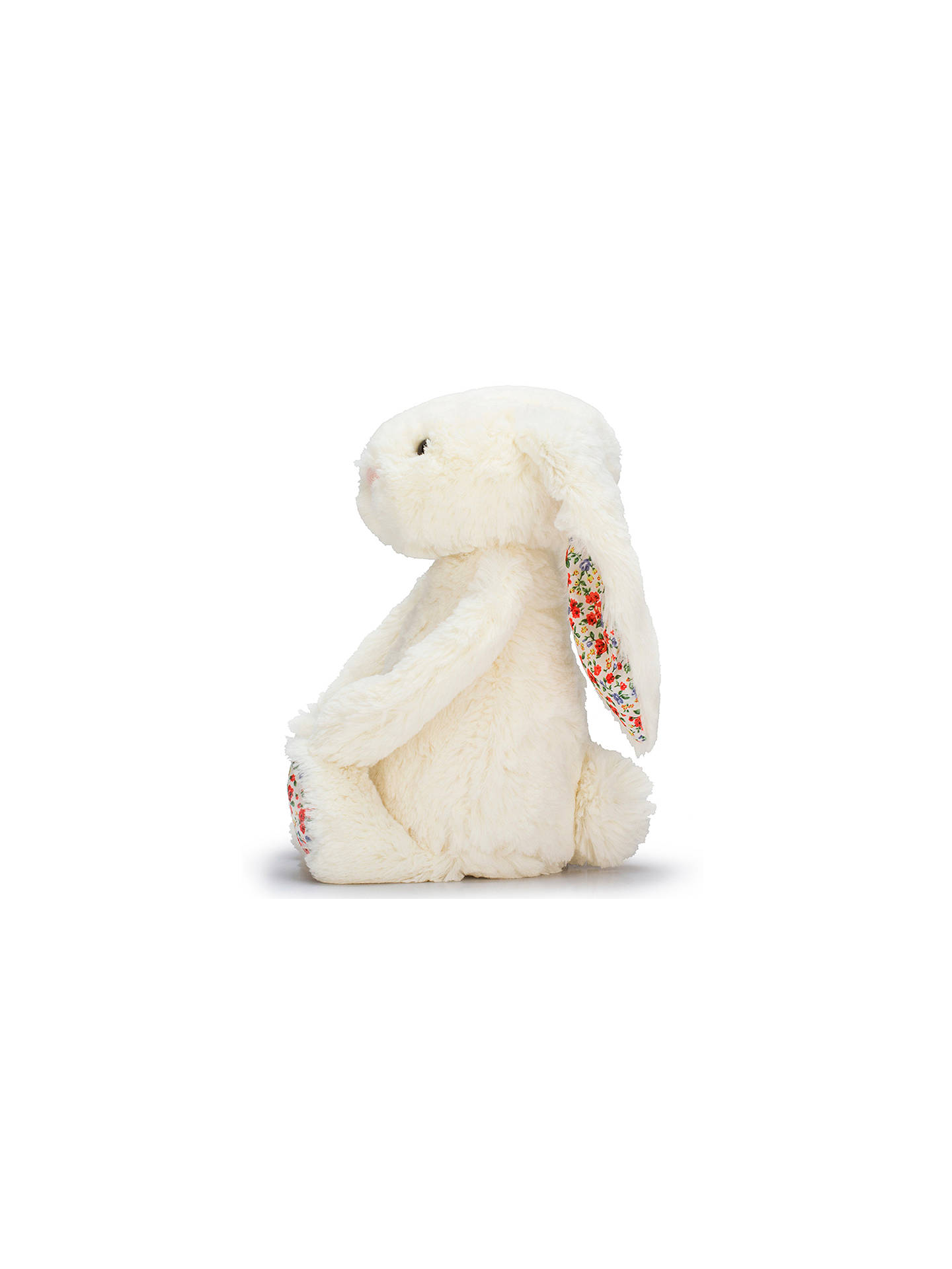 BuyJellycat Blossom Bunny Plush Soft Toy, Large, Cream Online at johnlewis.com